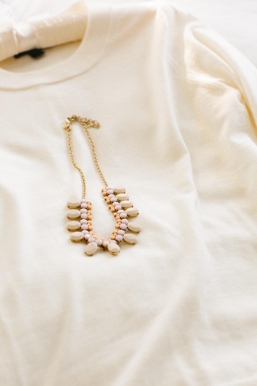 Photo of Bride's necklace