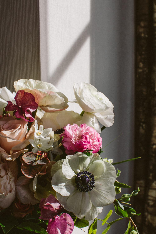 Sprout home floral design bouquet details