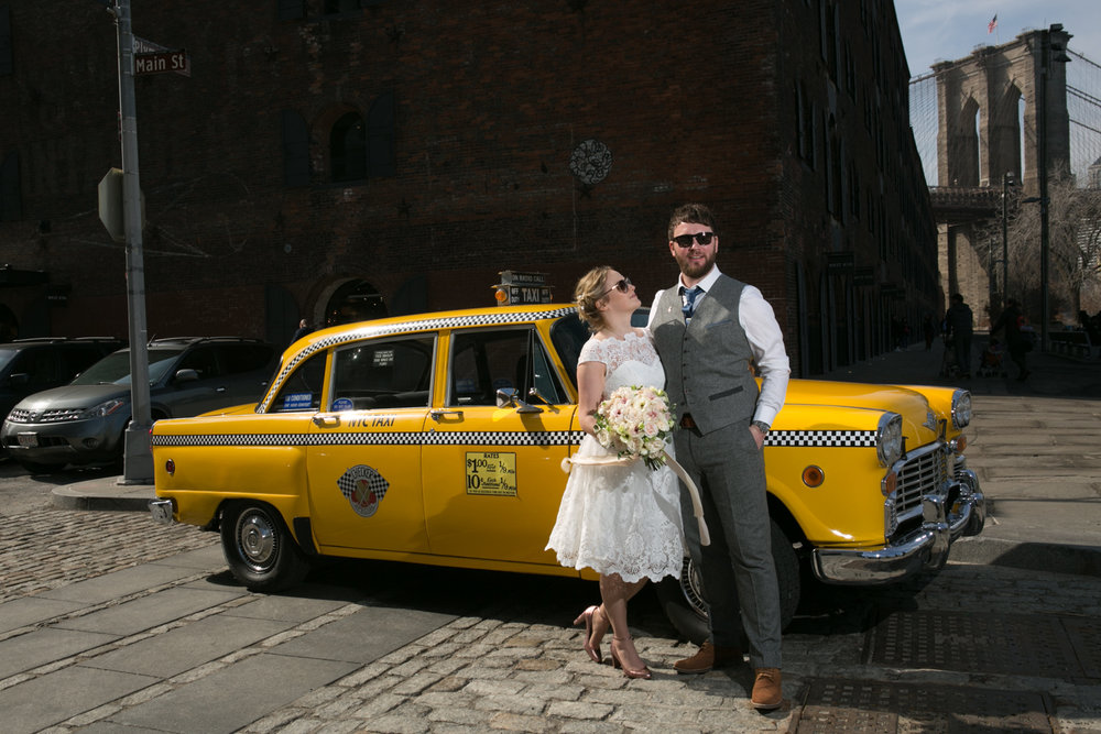 New York City Vintage Taxi