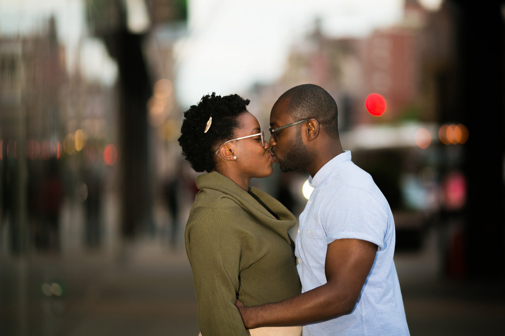 Manhattan Sunset Anniversary Session