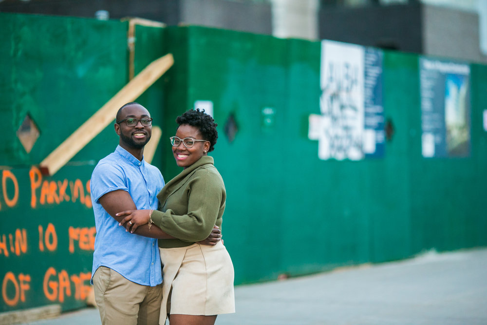 NYC Engagement Photography Session
