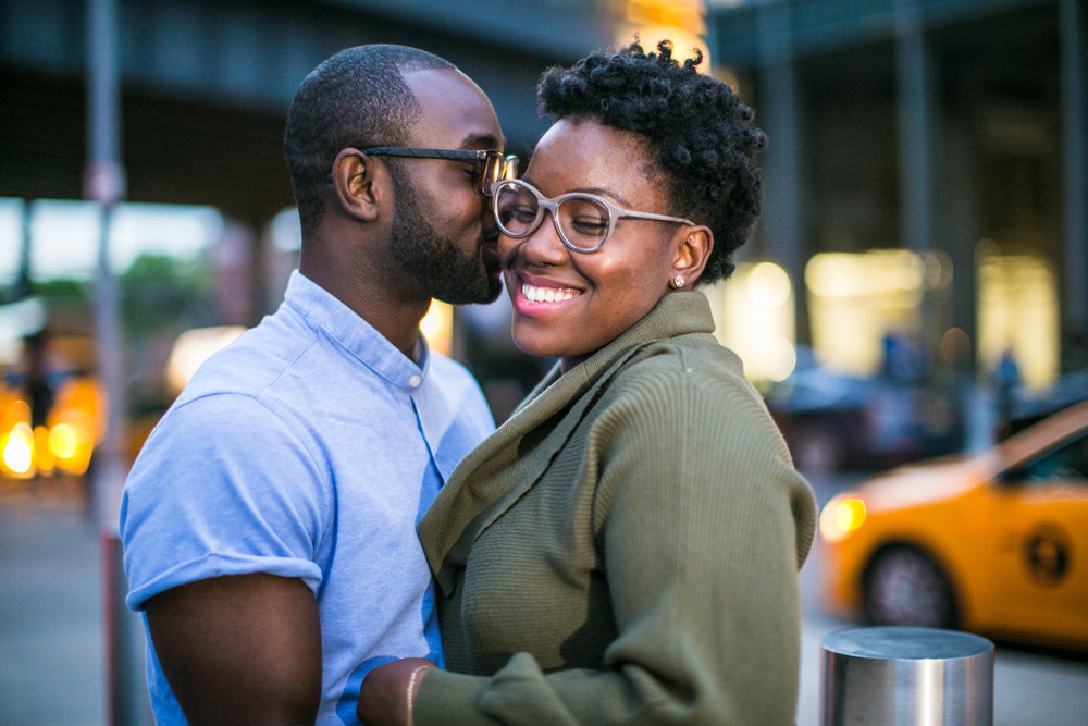 Engagement photography session in NYC