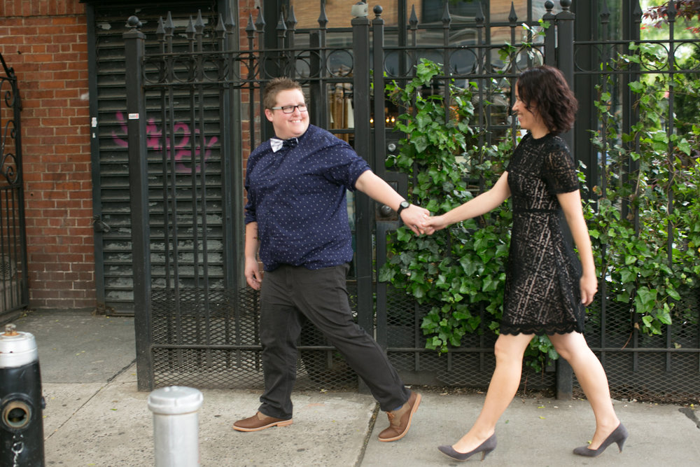 Happy couple celebrates anniversary in NYC