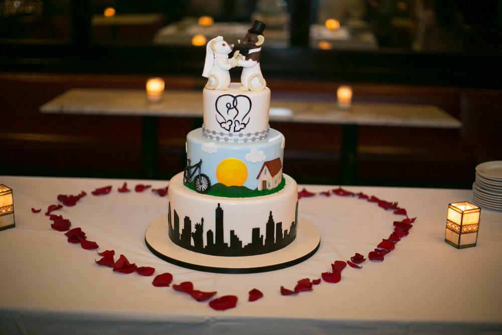 Luxury Elopement Cake