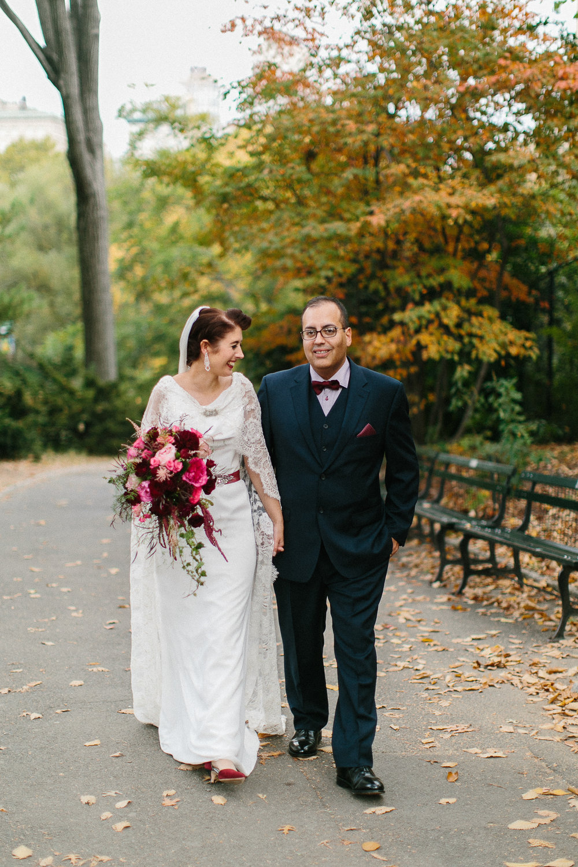 Autumn Central Park Wedding