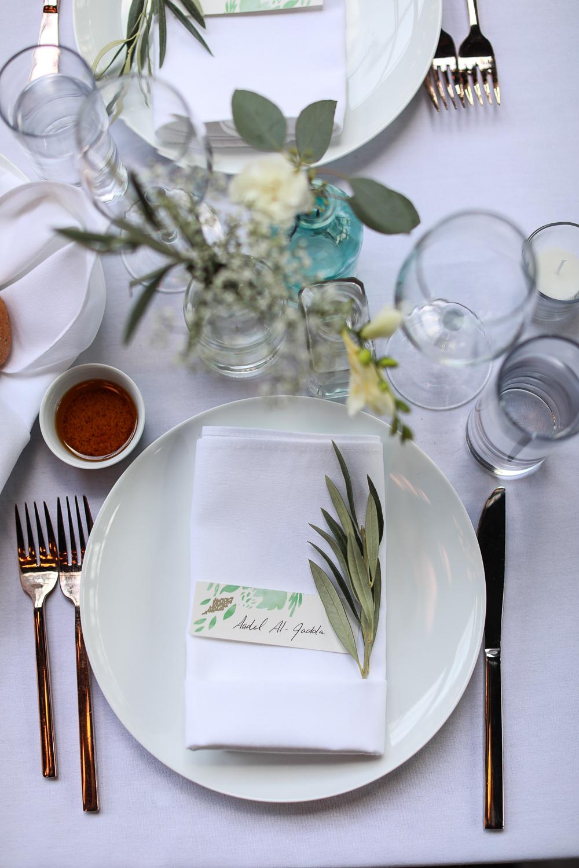 Table wetting at a Brooklyn Wedding -501 Union Wedding Photos in Brooklyn - Luna & Tom's Wedding