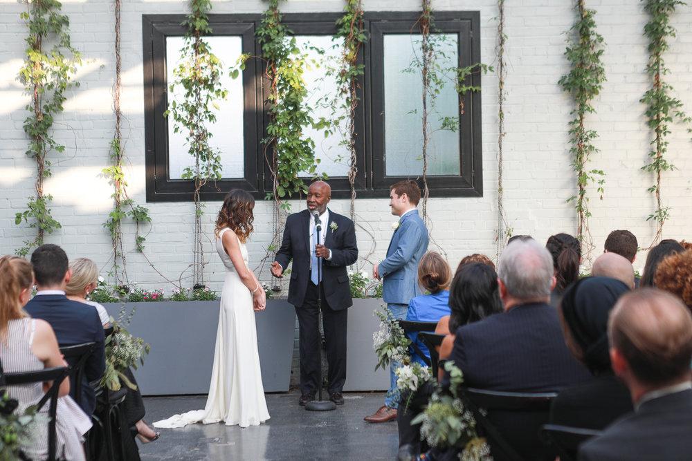 Wedding at 501 Union in Brooklyn, New York - 501 Union Wedding Photos in Brooklyn - Luna & Tom's Wedding