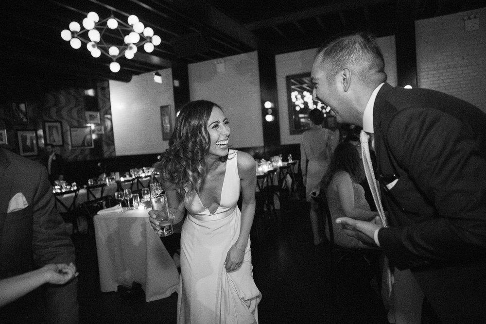 Bride dancing at her wedding -501 Union Wedding Photos in Brooklyn - Luna & Tom's Wedding