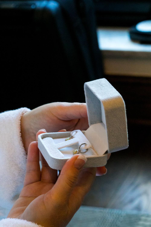 Surprise groom's gift