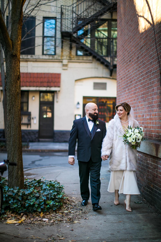 Greenwich Village Elopement Photos