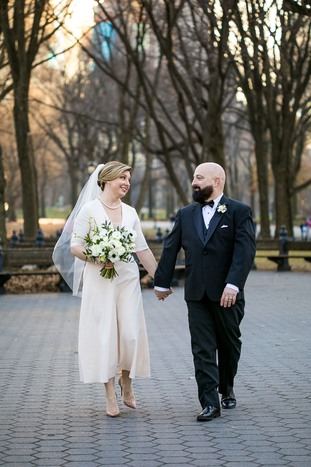 Winter Wedding in Central Park