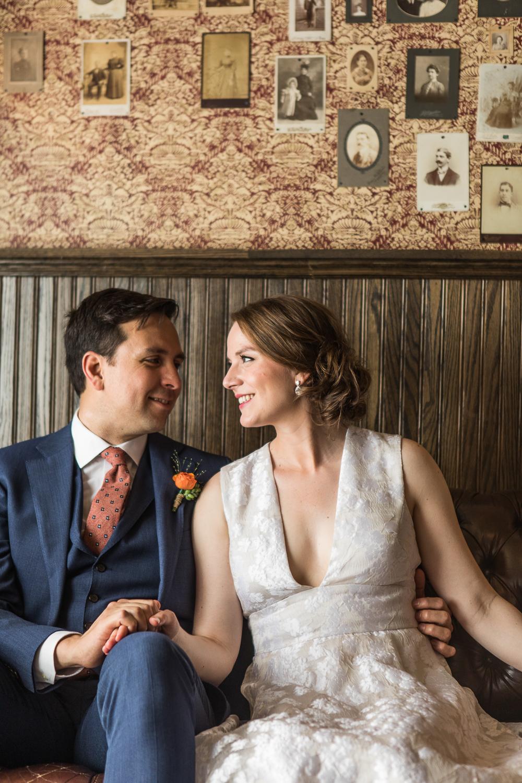 Wedding portraits at Brooklyn winery