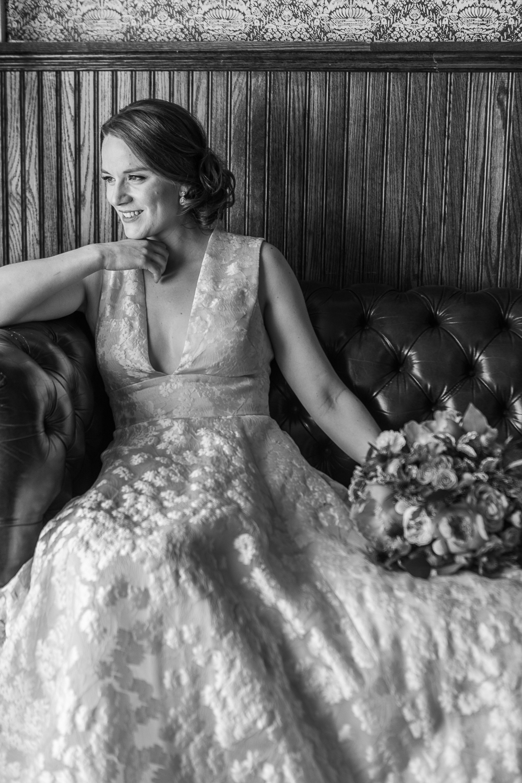 Iconic bridal portrait