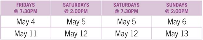 Joseph Schedule