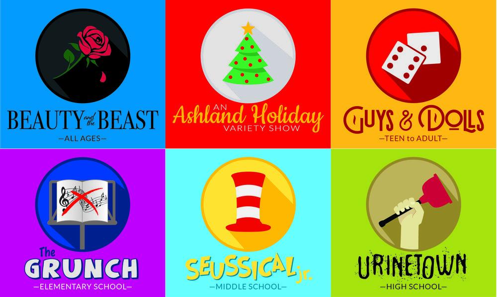Now Announcing... Ashland's 2019-2020 Season!