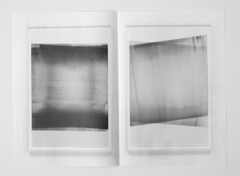 print material, widmertheodoridis (Zurich),  at VOLTA NY, New York City, 2015