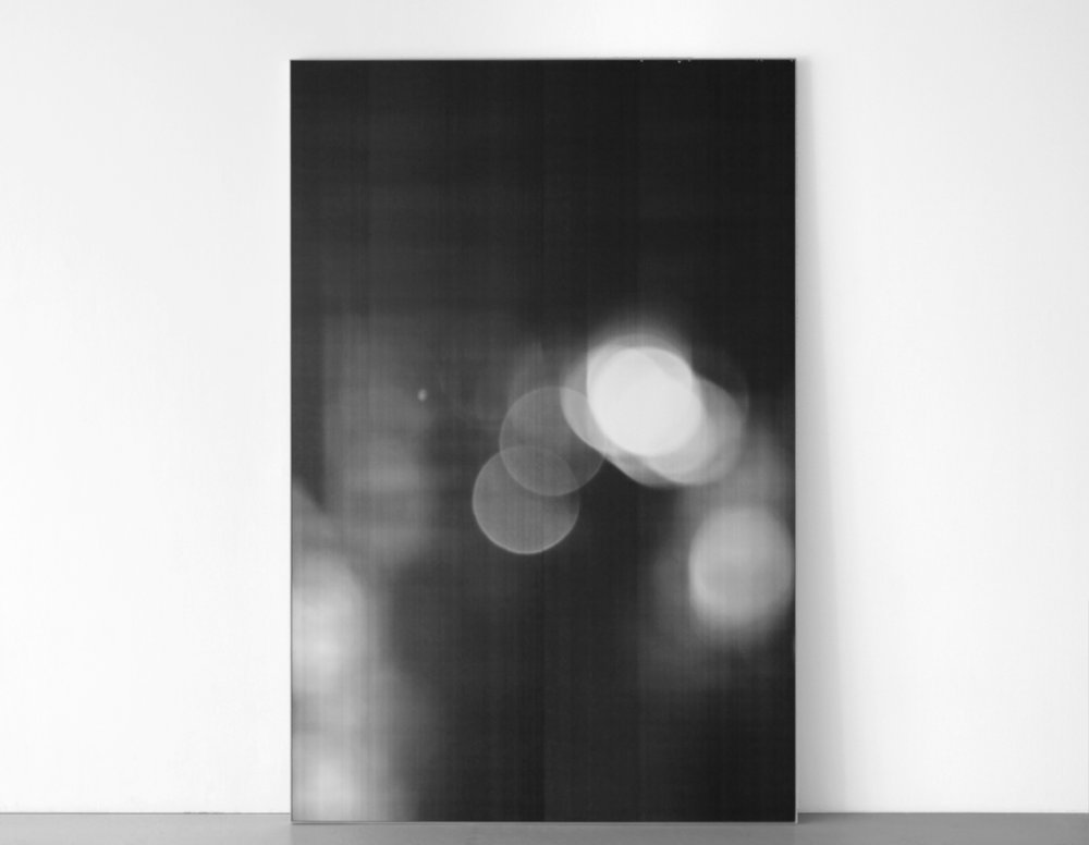 Untitled (Seventh Year)  2011, enlarged and mounted photocopy,  96 x 63 inches