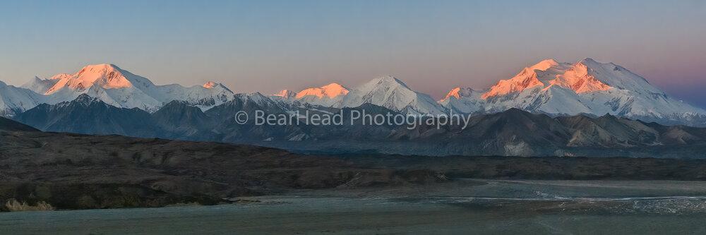 Alaska Range Glow
