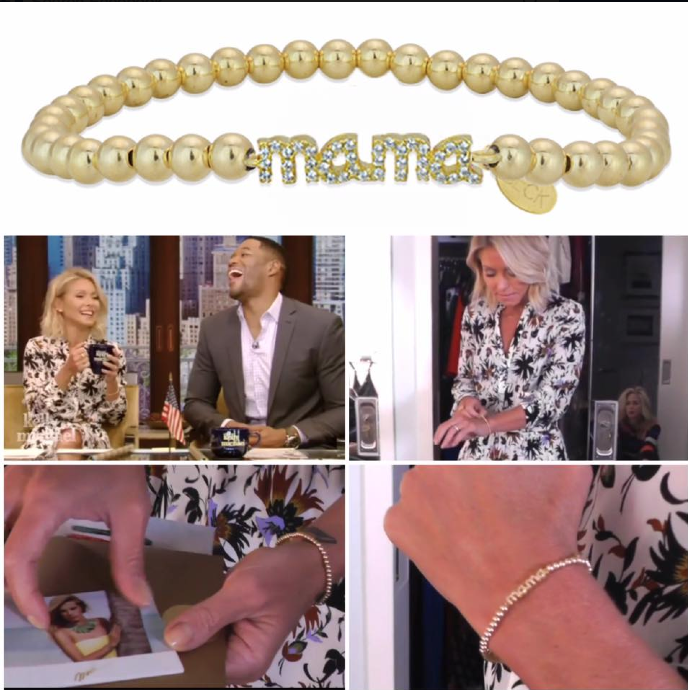 Kelly Ripa wearing BECK Designs