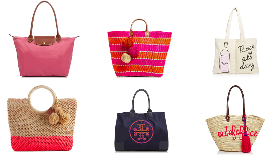 Tote Bags - Whether you're going to the beach or going to work, a tote bag is the way to go! Click here to shop!