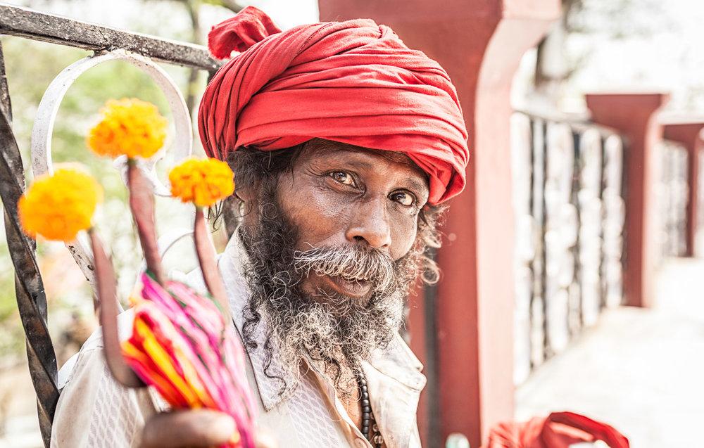 The Holy Man of Umananda Island