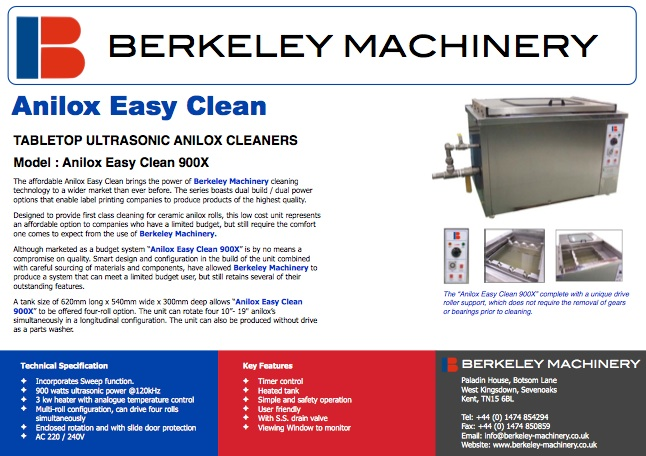 Click on the image to view more about the Anilox Clean