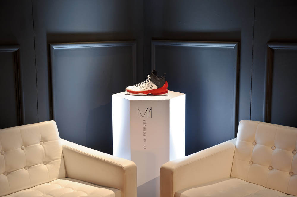Nike - Influencer dinner and pop-up launch for Jordan M11