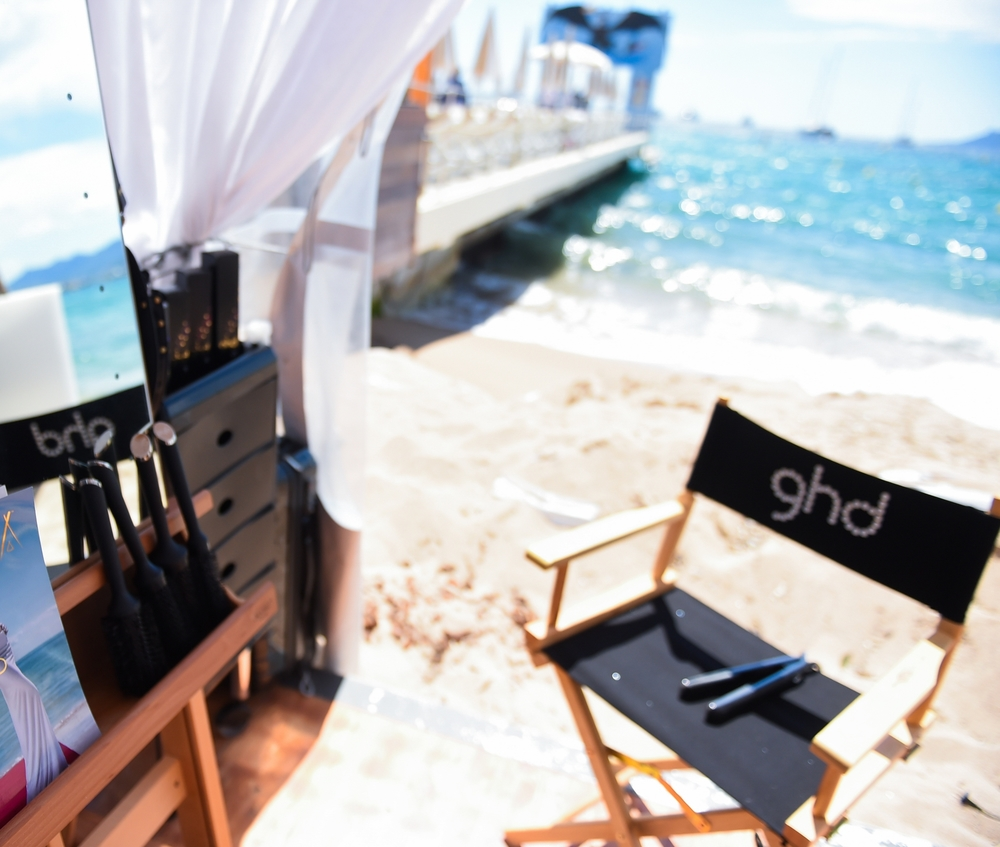 ghd pop up - Cannes Festival