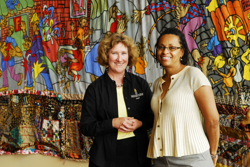 Margaret Rohn & Rowena Jordan - Facilitators, Cincinnati National Underground Railroad Freedom Center