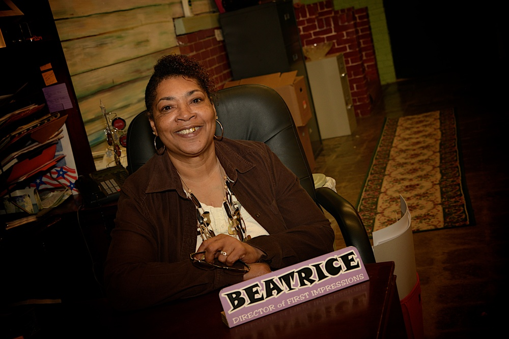 Photographed at her desk at Boaz & Ruth.