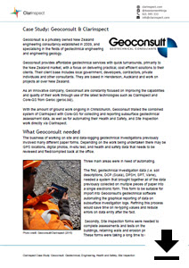 Click for Geoconsult casestudy
