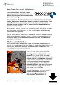 Click for Geoconsult casestudy