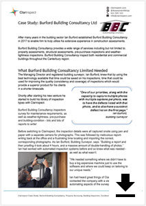 Click for Burford Building Consultancy Case study.