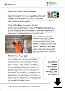 Click to download BioDec Casestudy