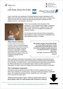 Click for Olsson Fire & Risk Case study