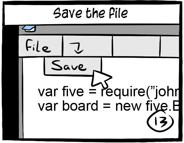 Save your file