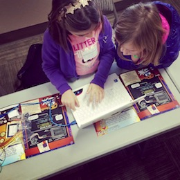 Collaboration is a key component of the PodPi curriculum. Classroom packs are available.