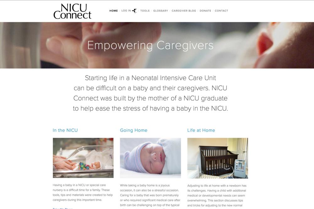 NICU Connect Website
