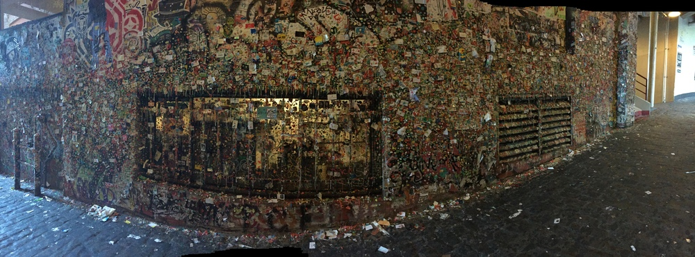 Gum Wall @ Pike Place Market