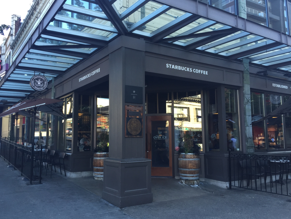 Original Starbucks. 1st & Pike.