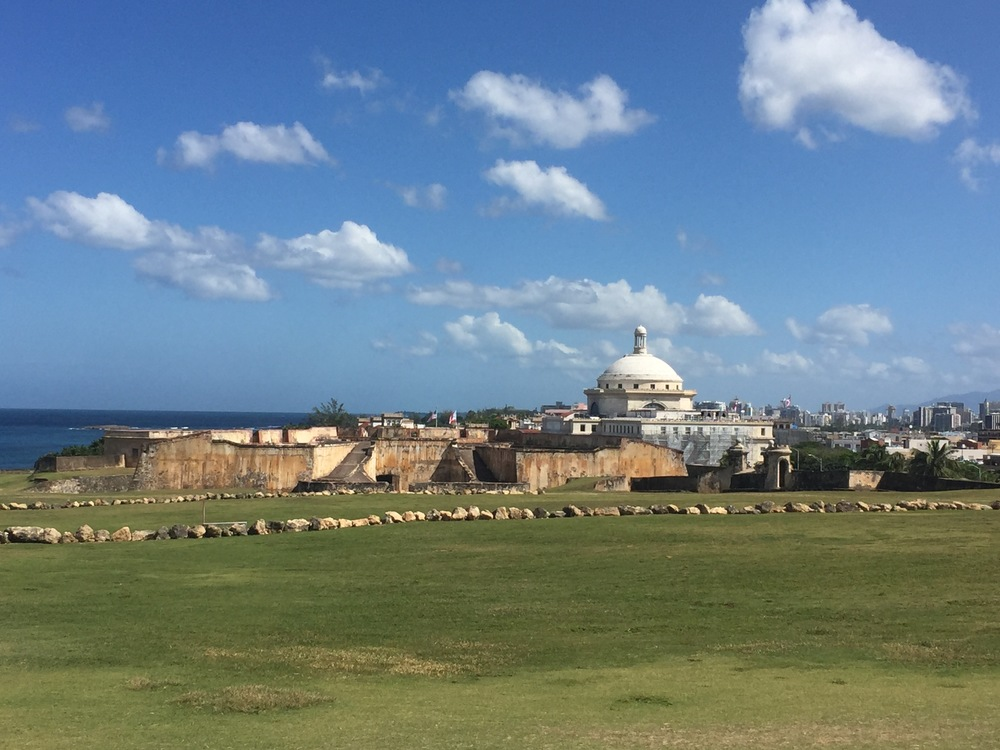 $5 gains admission into this fort and El Morro for 1 week!