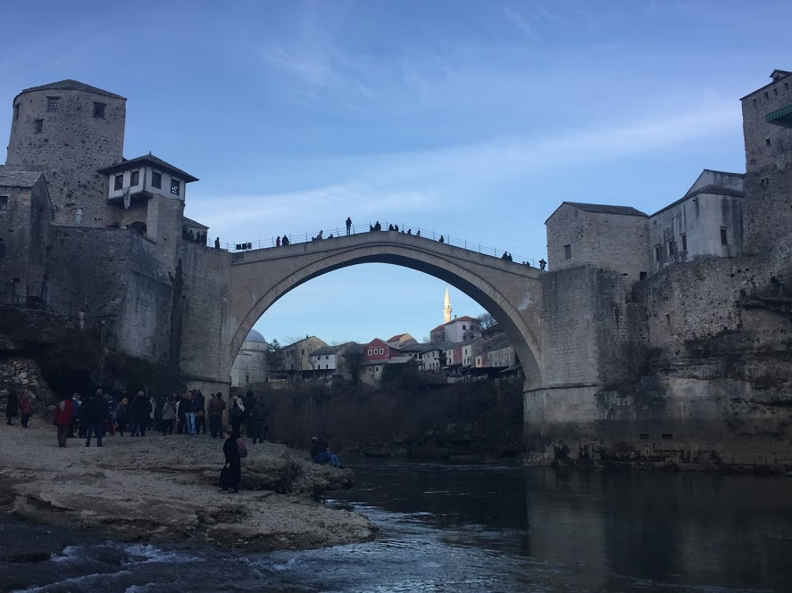 Mostar's bridge Stari Most looks like it came out of a fairytale. Bosnia and Herzegovina