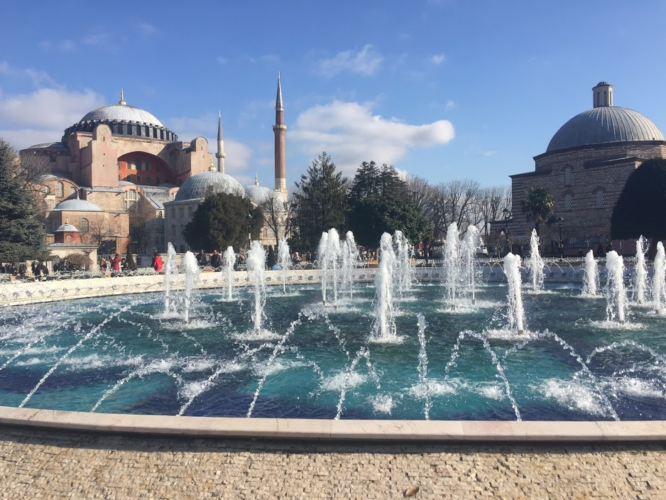 Hagia Sophia Museum on the left