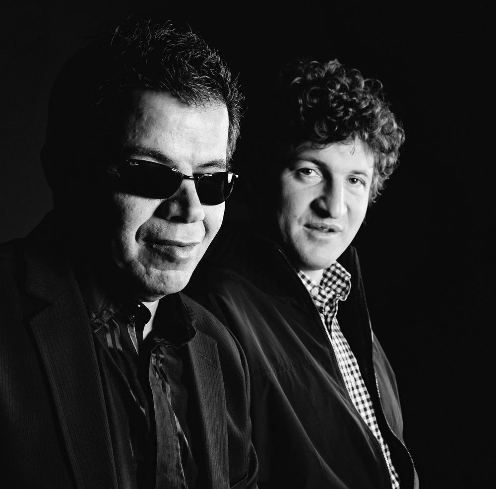 Le musicien de jazz Marcel Loeffler et le viticulteur Jean-Christophe Bott