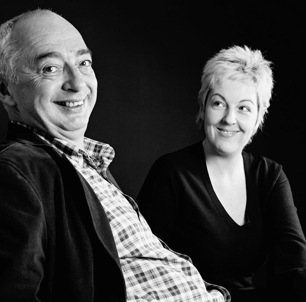 L'archéologue Marc Grodwohl et la chanteuse lyrique Salomé Haller