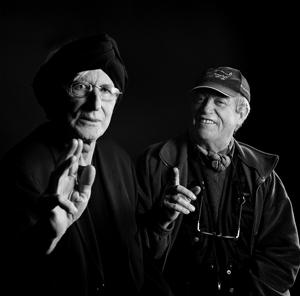 L'illustrateur, dessinateur, Tomi Ungerer et le peintre Raymond Waydelich