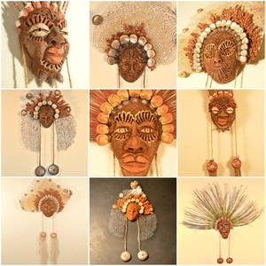 Afro-Cuban Masks