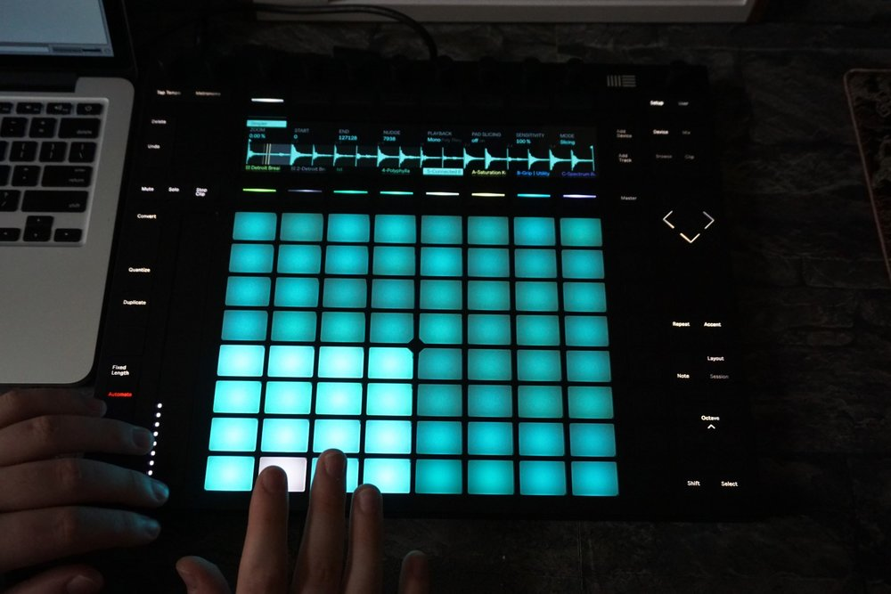 Ableton knocked it out of the park with this controller, but it still left me wanting something similar to my S8 workflow in Traktor DJ, with a twist.