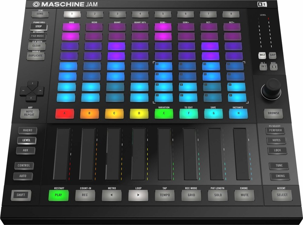 "Clearly Maschine Studio and Push 2 met at a bar, they had drinks, one thing led to another... And they had a little black baby. Did Maschine ""borrow"" too much from Ableton, or did they just get with the times?"