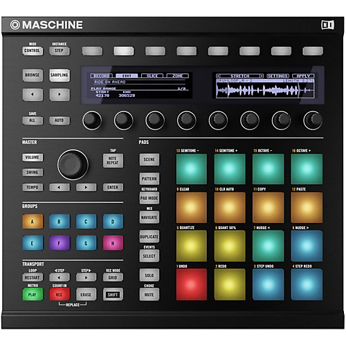 Maschine MK2 puts performance elements at your fingertips, and when combined with JAM, it's pretty hard to beat for live performance - unless you're PUSH 2 ;)